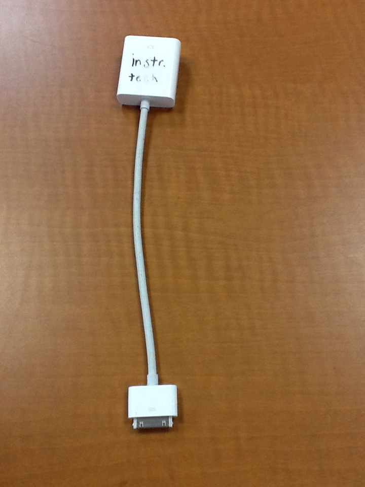iPad Dock Connector To VGA